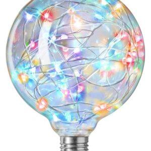 Nielsen Sprinkler Globe Ø125 mm LED 1W E27 RGB blinkende