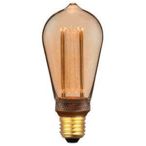 Nordlux Deco Edison LED 3,5W E27, guld