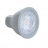 Nordtronic GU10 LED-pære 5W, 3000K, 400 lumen, Ra90, dæmpbar, IP44, flickerfree