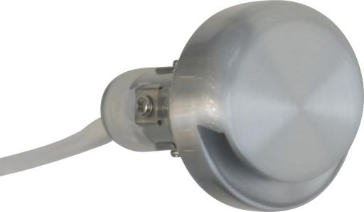 Nordtronic LED mini downlight - børstet aluminium