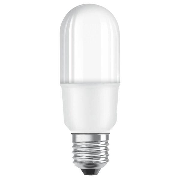 OSRAM E27 LED-rørlampe E27 8W, varmhvid