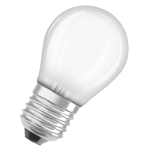 OSRAM LED-dråbepære E27 5W 827, dæmpbar