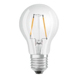 OSRAM LED-pære E27 2,8W Classic Filament 2.700K