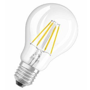 OSRAM LED-pære E27 4W Classic Filament 827