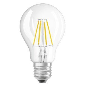 OSRAM LED-pære E27 4W filament 4.000K, klar
