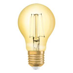 OSRAM LED-pære E27 8W Vintage Filament 825 guld