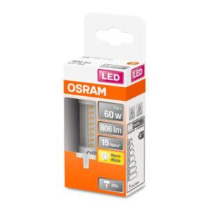 OSRAM LED-pære R7s 7W 2.700K