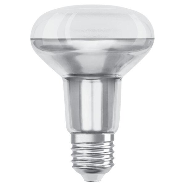 OSRAM LED-reflektor E27 R80 9,1W varmhvid 36°