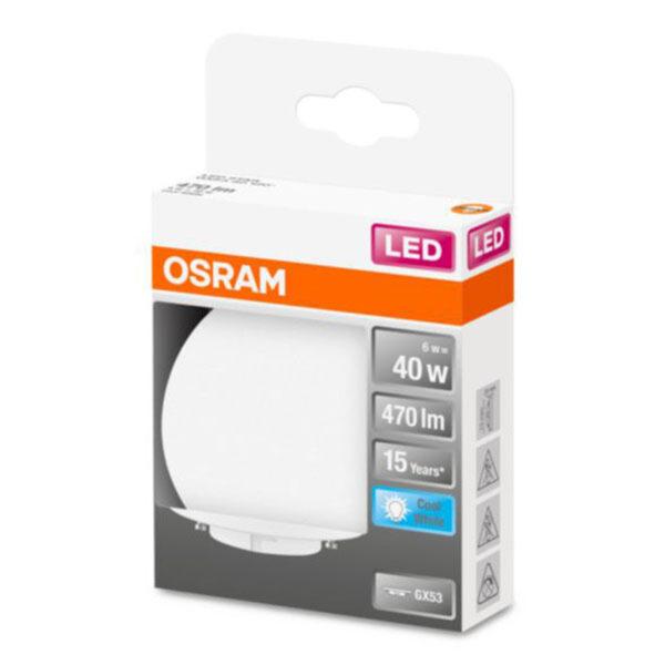 OSRAM Star Special LED-pære GX53 6W 4.000K opal