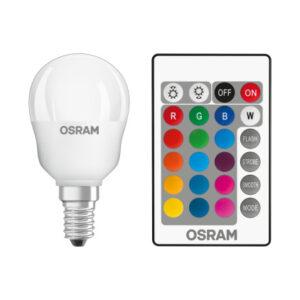Osram LED Kronepære m/Fjernbetjening - E14