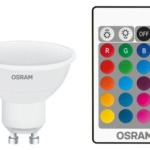 Osram LED Spotpære m/Fjernbetjening - GU10