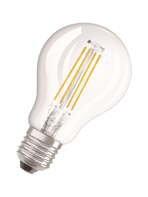 Osram LED pære Krone 5W/827 (40W) filament klar dæmpbar E27