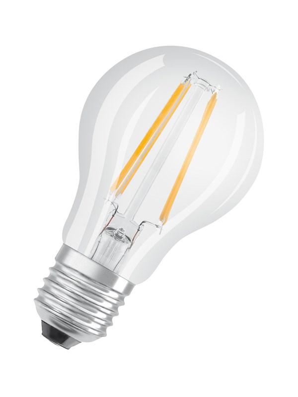 Osram LED pære STAR+ GLOWdim standard 7W/827 (60W) filament klar dæmpbar E27