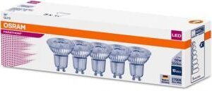 Osram Parathom LED PAR16 4,3W/827 GU10 (350 lumen) 36° ikke dæmpbar (4,3w=50w) - 5 PAK