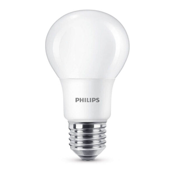 Pære LED 5,5W Plast (470lm) E27 - Philips
