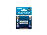 Panasonic eneloop BK-4MCCE - Batteri 2 x AAA - NiMH - (genopladelige) - 750 mAh