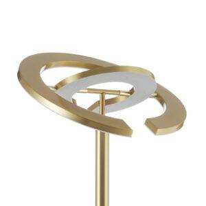 Paul Neuhaus Martin LED-uplight lampe CCT, messing