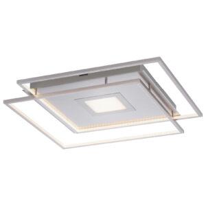 Paul Neuhaus Q-AMIRA LED-loftlampe, sølv