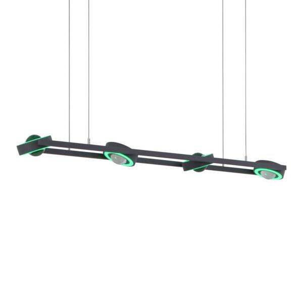 Paul Neuhaus Q-MIA LED-hængelampe, antracit