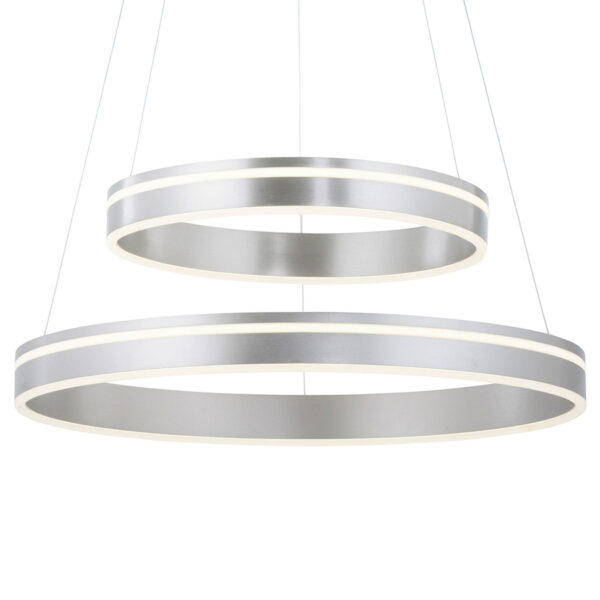 Paul Neuhaus Q-VITO hængelampe, 2 lyskilder, stål