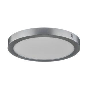 Paulmann Abia LED-loftlampe Ø 30 cm, mat krom