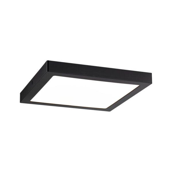 Paulmann Abia LED-panel, kantet, mat sort