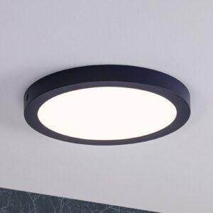 Paulmann Abia LED-panel, rundt, Ø 30 cm, natblåt