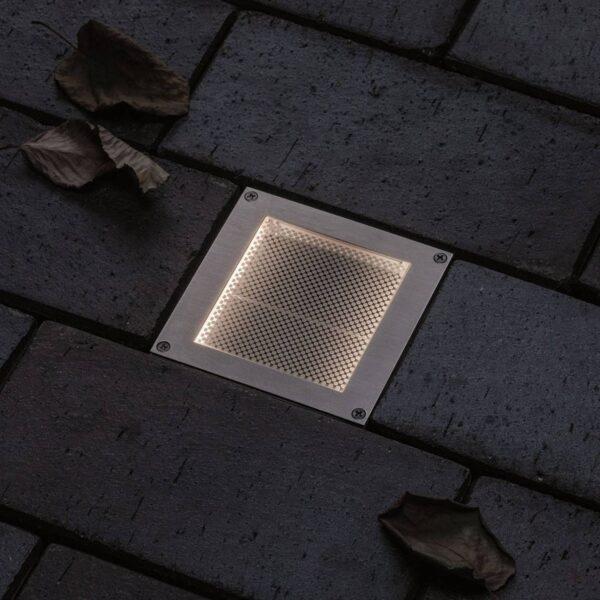 Paulmann Brick LED nedgravningslampe, 10x10 cm
