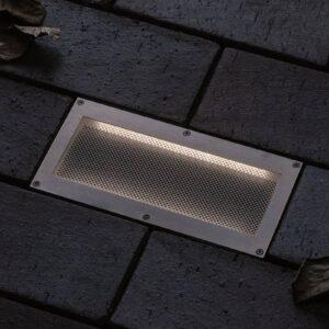 Paulmann Brick LED-nedgravningslampe, 10x20 cm