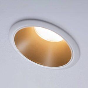 Paulmann Cole LED-spotlight, gylden-hvid