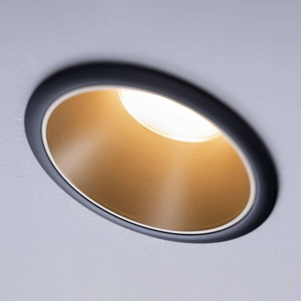 Paulmann Cole LED-spotlight, gylden-sort