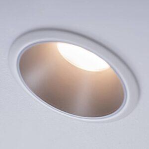 Paulmann Cole LED-spotlight, sølv-hvid