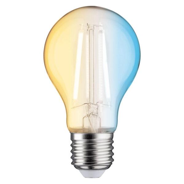 Paulmann LED-filamentpære E27 4,7W ZigBee, CCT