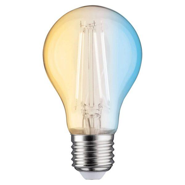 Paulmann LED-filamentpære E27 7W ZigBee, CCT
