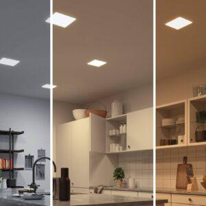 Paulmann LED-panel Veluna kantet 3-step CCT 18,5cm