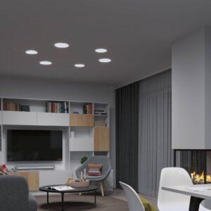 Paulmann LED-panel Veluna rund 3-step CCT 18,5 cm