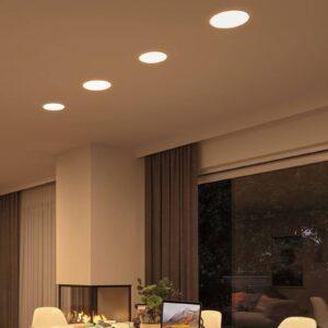 Paulmann LED-panel Veluna rund 3-step CCT 21,5 cm