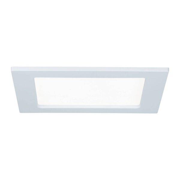 Paulmann LED-panel, kantet, 12W, 4.000 K, hvid