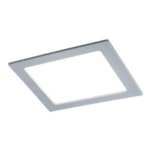 Paulmann LED-panel, kantet, 18 W, 4.000 K, krom