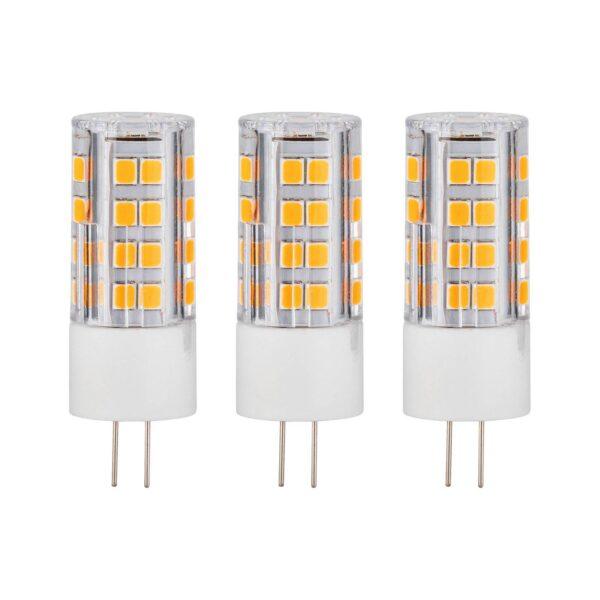 Paulmann LED-stiftsokkel G4 3 W 2.700 K, 3 stk.