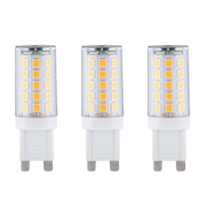 Paulmann LED-stiftsokkelpære G9 2,2W 2.700K, 3 stk