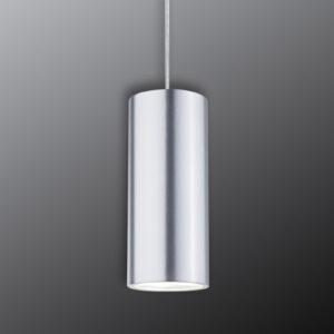 Paulmann URail Barrel LED-pendel, mat krom