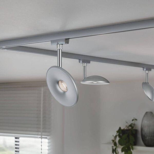 Paulmann URail LED-spotlight Eye, mat krom