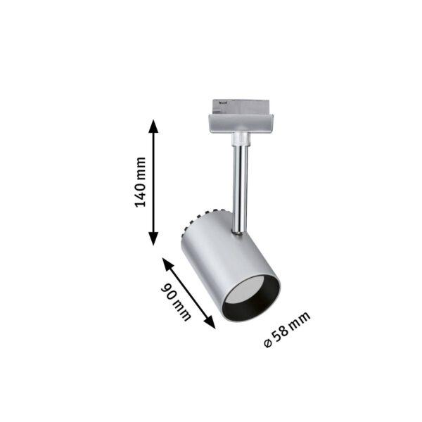 Paulmann URail Shine LED-spotlight i krom