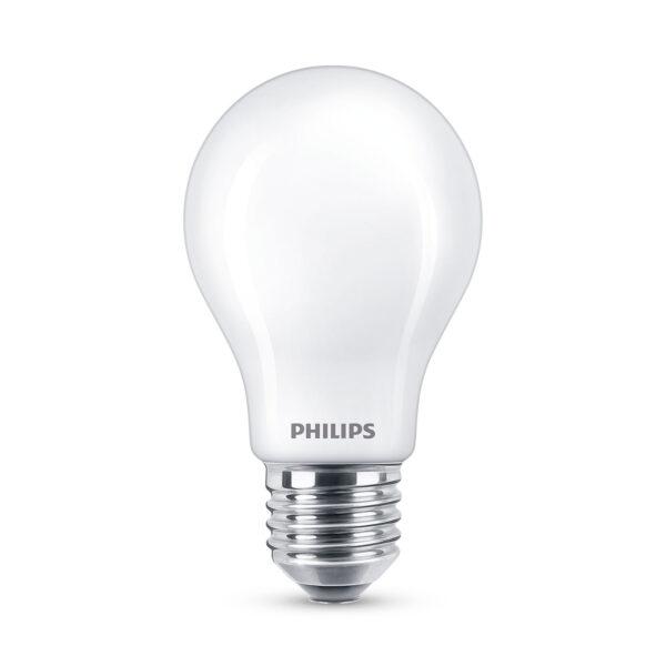 Philips Classic LED-pære E27 A60 1,5W 2.700K, mat