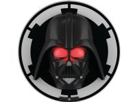 Philips Darth Vader, sort LED-væglampe, Væg, Sort, Hvid, Dreng, Syntetisk, Udtryksfuld, Soveværelse, Børneværelse, Stue