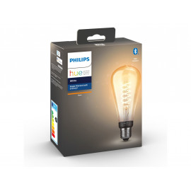 Philips Hue 1 stk. ST72 E27 Filament Edison - Bluetooth - 8719514279179