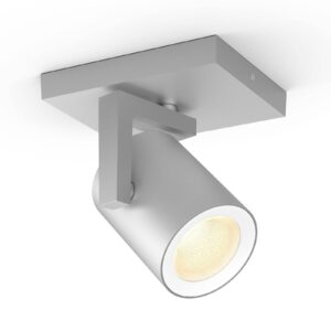 Philips Hue Argenta LED-spotlight, 1 lyskilde, alu