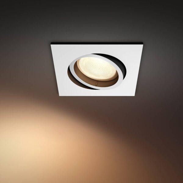 Philips Hue Centura LED-spot kantet hvidt