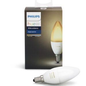 Philips Hue E14 White AMBIANCE - 1-pak